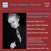 Stokowski: Bach Transcriptions 2