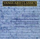 Liszt: Masterpieces for Solo Piano, Vol. 1