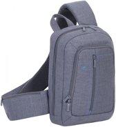 RivaCase 7529 Laptop sling backpack 133 Grijs