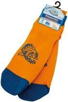 Aquasokken Flipper Swimsafe oranje blauw maat 35 38