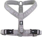 Hurtta Casual Y-harness - Zilver Ash - S: 35-45 cm