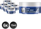 Schwarzkopf Taft Ultra Haargel-Wax Structure - 6 stuks - Voordeelverpakking
