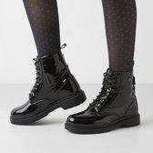 British Knights BLAKE Dames veter boot - Zwart - maat 38
