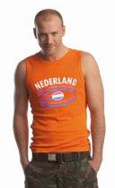 Oranje heren singlet Nederland 2xl