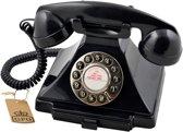 GPO 1929SPUSHBLA Telefoon klassiek bakeliet jaren '20 ontwerp