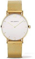 Paul Hewitt Sailor Line PH-SA-G-SM-W-4S - Horloge - Staal - Goudkleurig - Ø36mm