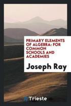 Primary Elements of Algebra