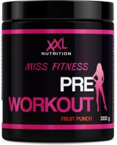 XXL Nutrition Miss Fitness - Pre Workout - 300 gram (30 doseringen) - Fruit Punch