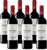 Torres Natureo Red Alcoholvrij - 75 cl x6 (Doos)