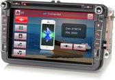Volkswagen DAB+ Navigatie Bluetooth 8 Inch voor Seat/Skoda/VW – Rns 510 Look – USB