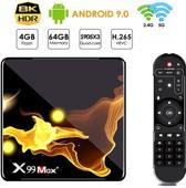 Android tv box Android 9 / Netflix Cadeau / Tv Box Android 4K / Mediaplayer voor Tv / Kodi Tv Box