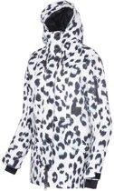 Rehall Dana-R dames ski jas M white leopard