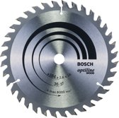Bosch - Cirkelzaagblad Optiline Wood 184 x 16 x 2,6 mm, 36