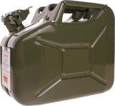 ProPlus jerrycan 10 liter staal groen