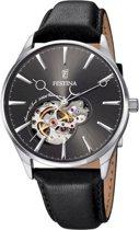Festina F6846/2 Auromaat - Horloge - Staal - Zilverkleurig - Ø 40,8 mm
