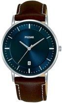 Pulsar PG8257X1 horloge heren - bruin - edelstaal