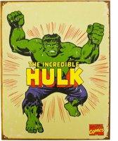 Metalen Retro Bord Hulk