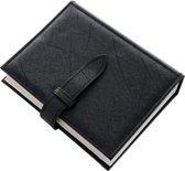 Fliex Oorbellen etui  Zwart - boek - Voor 36 paar