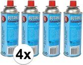 4x Kookstel gasflessen butaan gas - 4 stuks a 227 gram - gasbus navulling