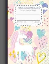 Primary Journals Kindergarten Top Half Blank for Drawing
