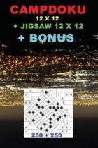 Campdoku 12 X 12 + Jigsaw 12 X 12 + Bonus