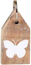 Sleutelhanger Vlinder / Keyring Butterfly
