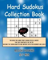 Hard Sudokus Collection Book #17