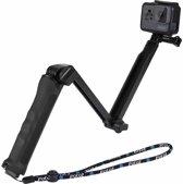 PULUZ 3-Way Grip Opvouwbaar Multifunctionele Selfie-stick Uitbreiding Monopod met statief voor GoPro HERO5 Session / 5/4 Session / 4/3 + / 3/2/1, Xiaoyi Sport Camera's, Lengte: 20-58cm