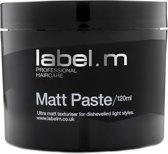 Label. M Matt paste 120ml