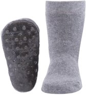 Ewers anti-slip sokken Stoppi uni grijs melee Maat: 19-20