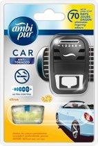 Ambi Pur Luchtverfrisser Citrus - Luchtverfrisser Voor In De Auto - Auto Luchtverfrisser - Anti Tabak Geur - 7ml