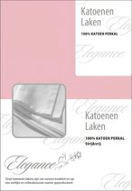 Laken Katoen Perkal - licht roze 150x250