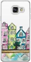 Samsung Galaxy A3 2016 siliconen hoesje - Amsterdam