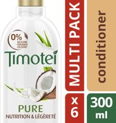 Timotei Pure Nourished & Light - 6 x 300 ml - Conditioner - Voordeelverpakking