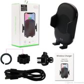 Licheers Universele Telefoon houder | Aotomatic locking and charger Draadloze Qi Lader | Electronische vergrendeling Houder