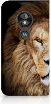 Motorola Moto E5 Play Standcase Hoesje Design Leeuw