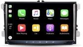Volkswagen Carplay Android Radio/Navigatie 9 inch iPhone en android auto met bluetooth