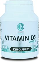 Vitamine D3 2000 UI - 120 Capsules