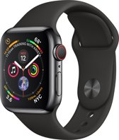 Apple Watch Series 4 - Smartwatch - Zwart - 40mm