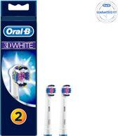 Oral-B 3DWhite - 2 Stuks - Opzetborstels