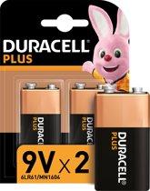 Duracell Plus Power 9 volt batterij - 2 stuks