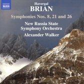 Symphonies Nos. 8, 21 And 26