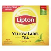 Lipton Yellow Label Thee - 6 x 50 stuks