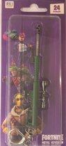 Fortnite sleutelhanger - Assault rifle scope - groen wapen - Keychainn