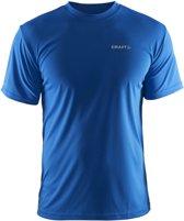 Craft Prime Tee Heren Trainingsshirt - Sweden Blue - L
