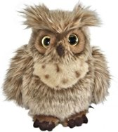 Living Nature Knuffel Uil Bruin