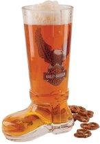 Harley-Davidson Eagle Glazen Laars Bier Glas