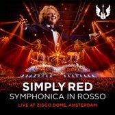 CD cover van Symphonica In Rosso (Cd+Dvd) van Simply Red