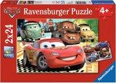 Ravensburger Disney Cars Nieuwe avonturen Twee puzzels van 24 stukjes
