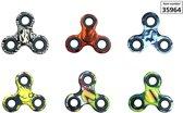 Fidget Spinner Hand Spinner met print (per stuk assorti)